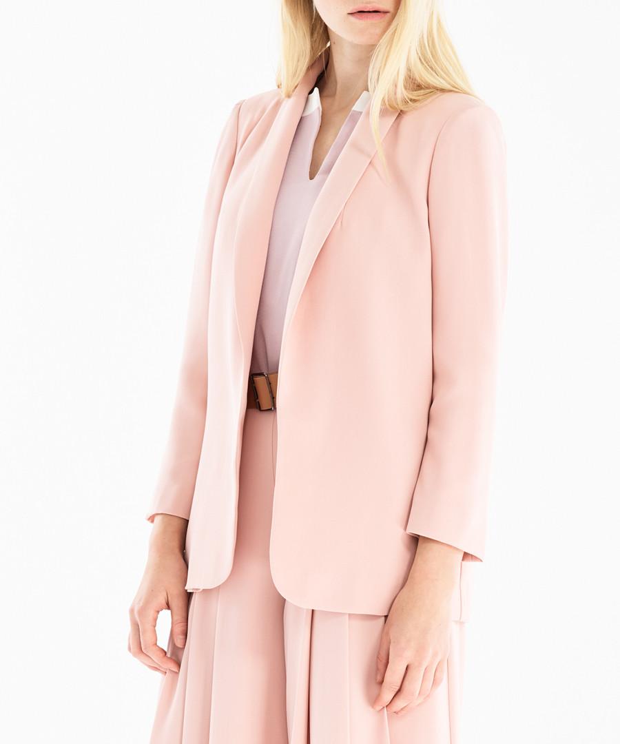 Pale pink tailored blazer Sale - paisie