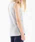 Grey side-tie sleeveless top Sale - paisie Sale