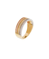 Union dorée gold-plated ring