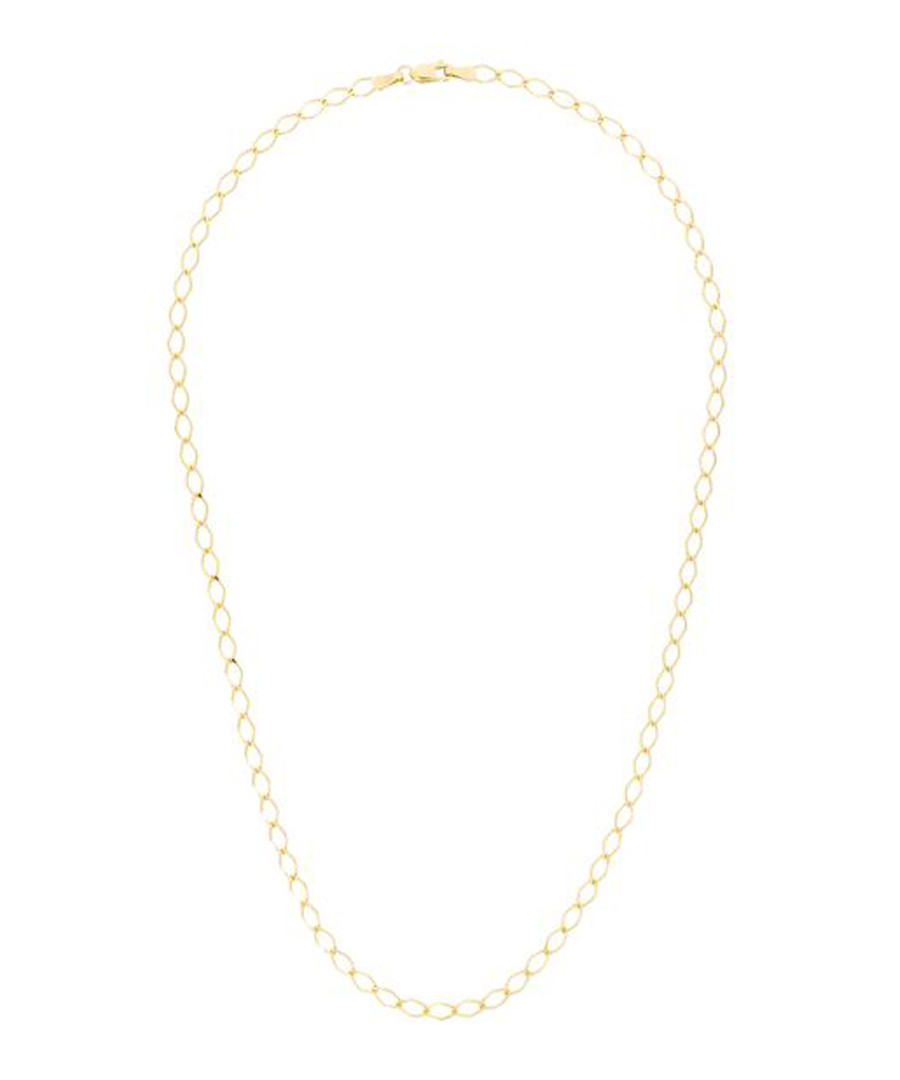 gourmette losange gold-plated necklace Sale - or eclat