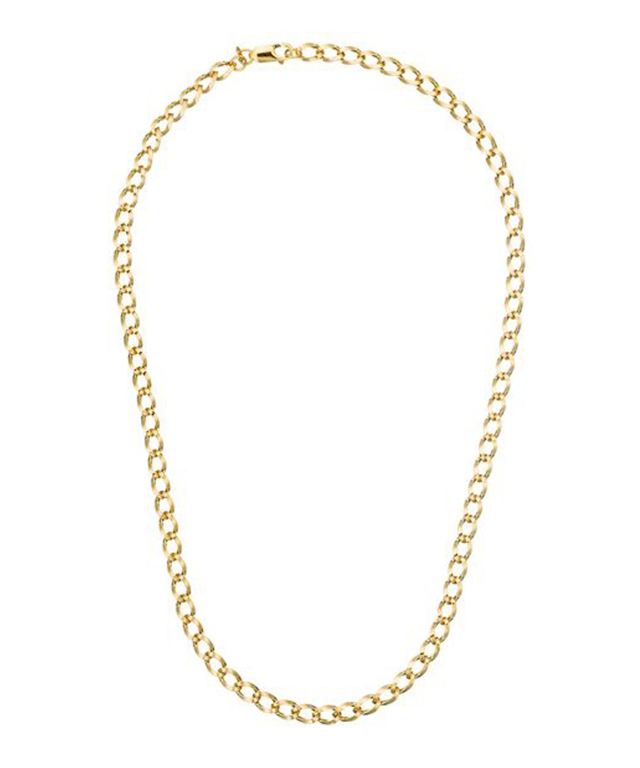 gold-plated chain necklace Sale - or eclat