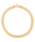 Maille gold-plated strip necklace Sale - or eclat Sale