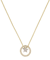 Actrice gold-plated star necklace