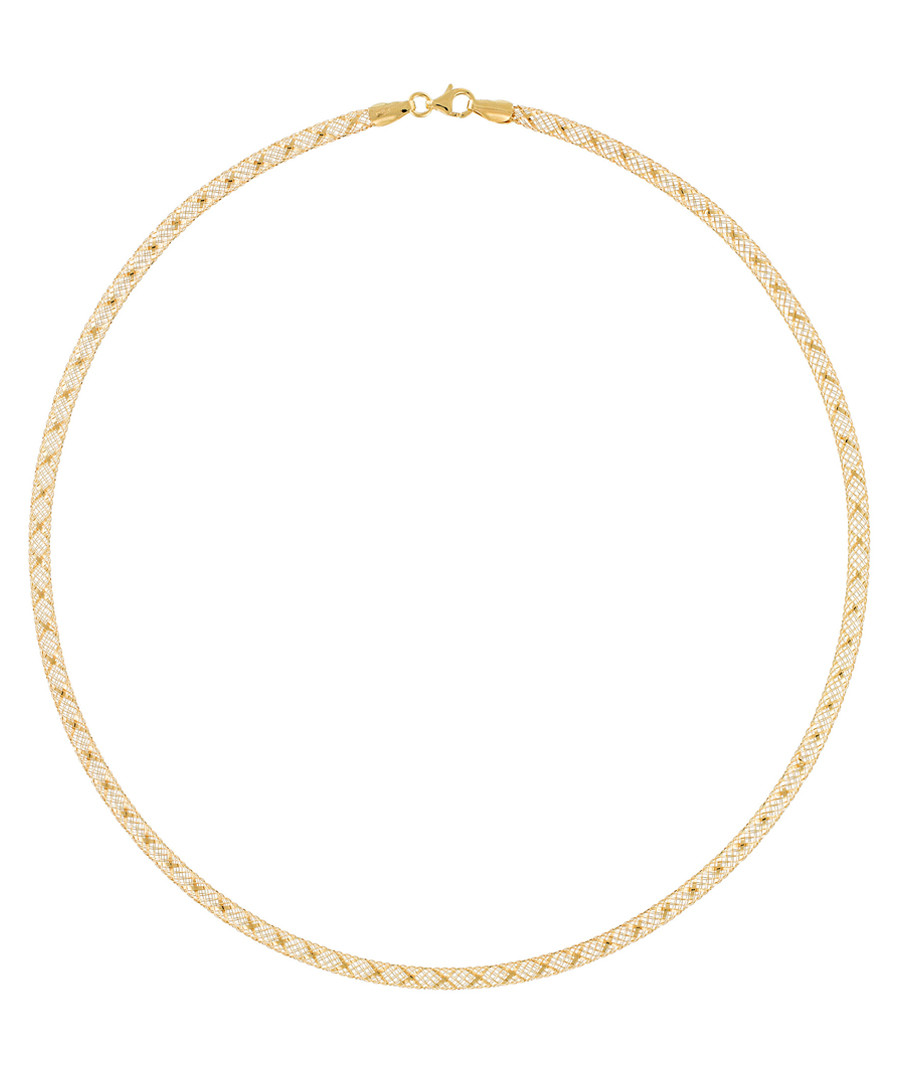 Toile d'Or gold-plated necklace Sale - or eclat