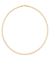 Toile d'Or gold-plated necklace