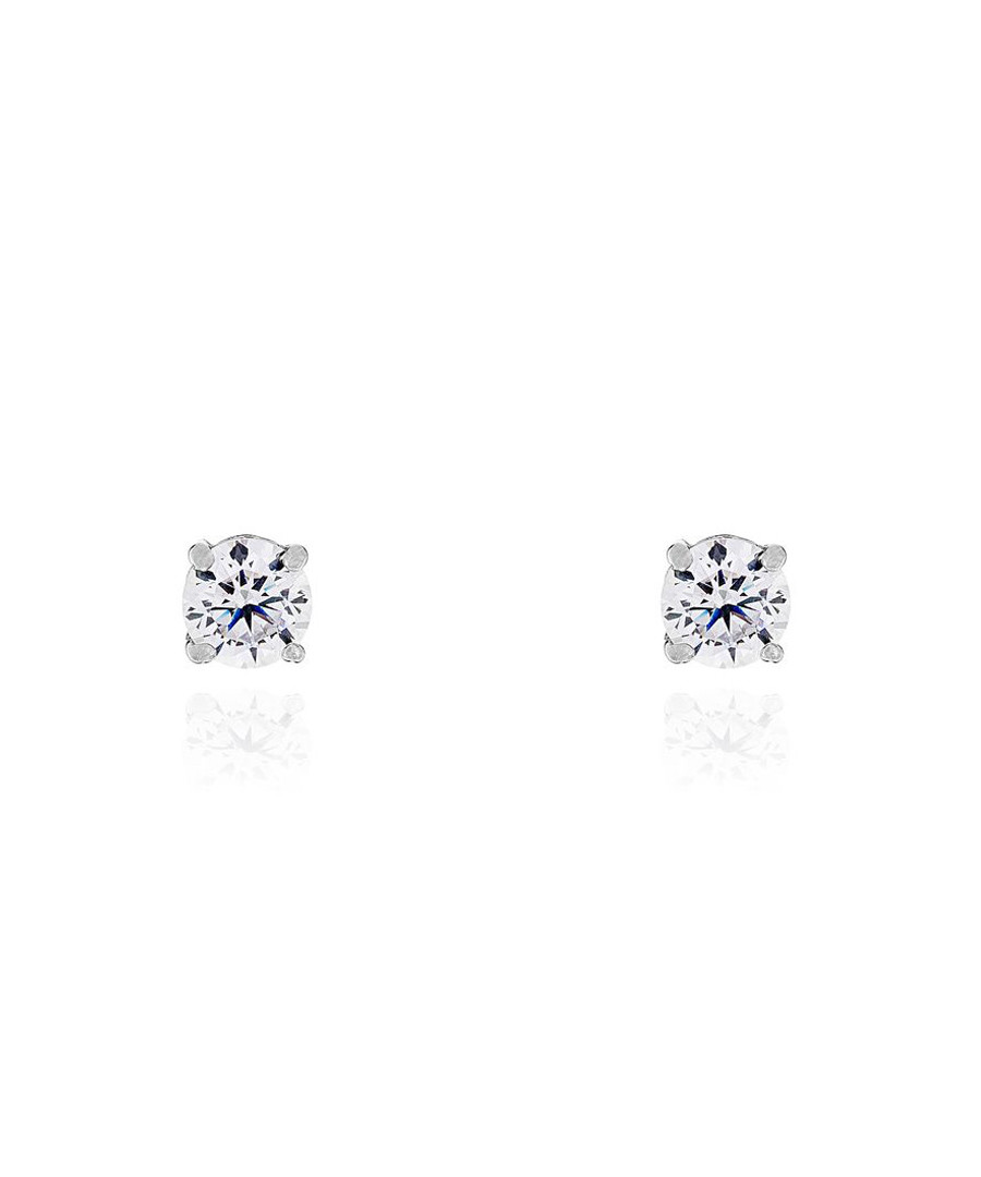 Simply You white gold-plated earrings Sale - or eclat