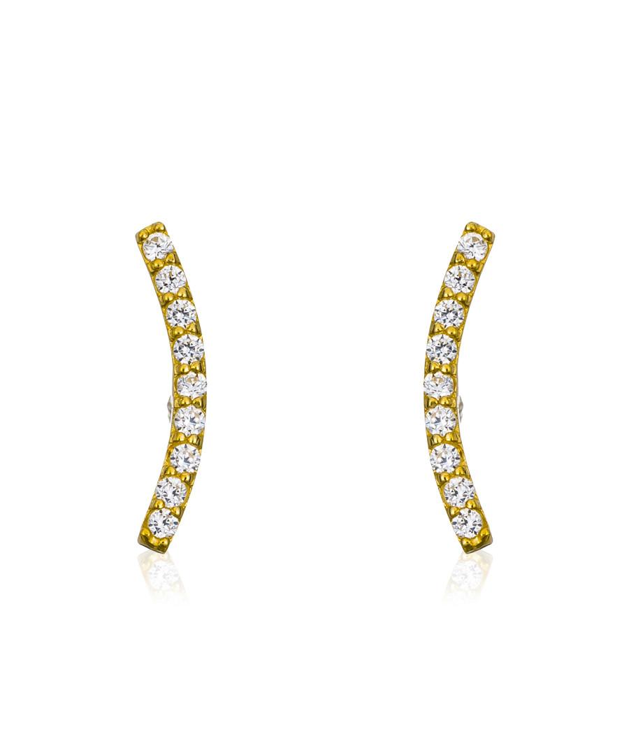 merveille gold-plated earrings Sale - or eclat