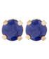 sapphire & gold-plate earrings Sale - or eclat Sale