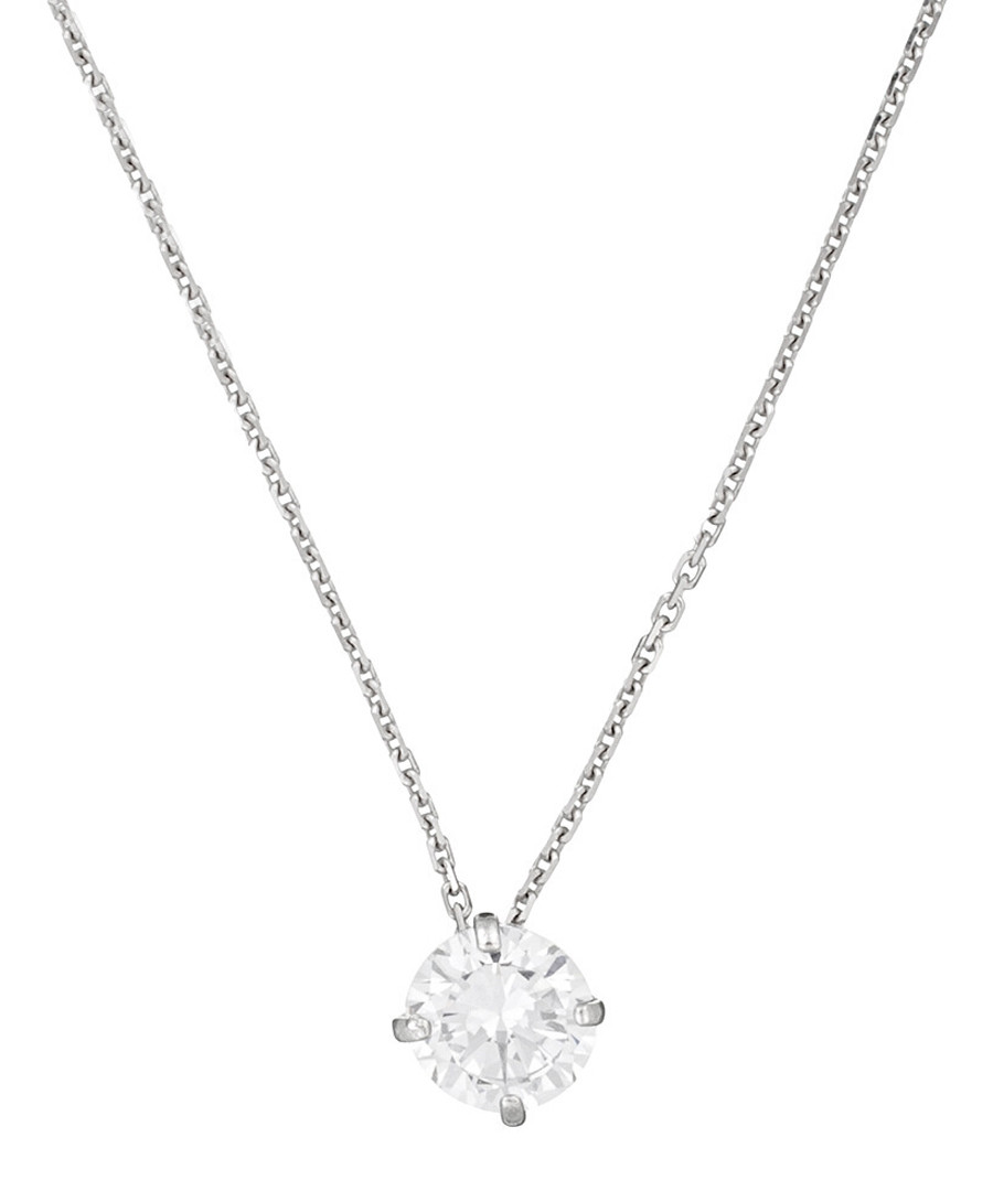 Splendeur white gold-plated pendant Sale - or eclat