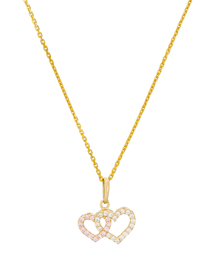 Ti Amo gold-plated hearts pendant Sale - or eclat
