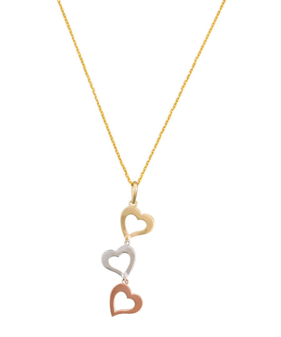 Coeur gold-plated hearts pendant Sale - or eclat