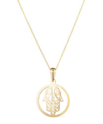 Main de Fatma gold-plated pendant