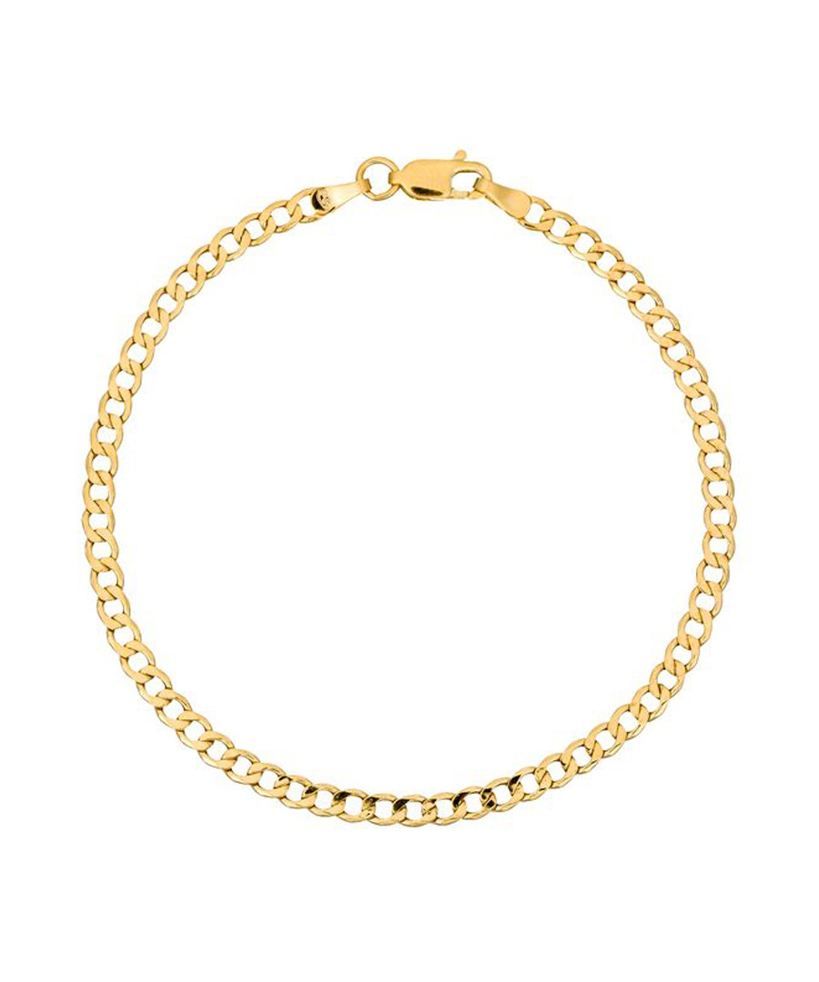 Maille creuse gold-plated bracelet Sale - or eclat