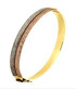 Jonc gold-plated duo bangle Sale - or eclat Sale