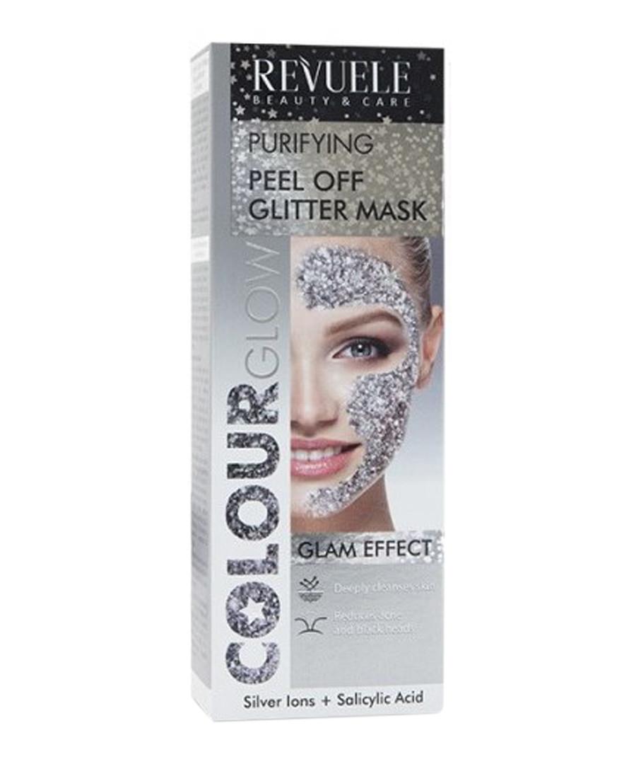 Silver glitter peel-off mask Sale - revuele