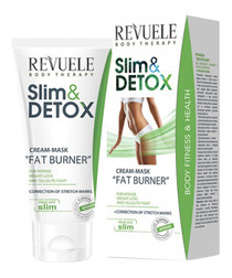 Slim & detox fat burner cream mask