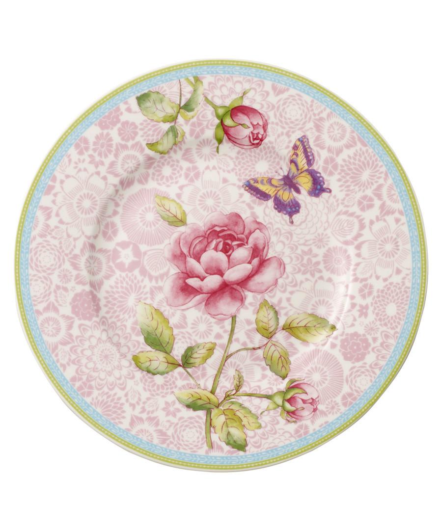 Rose Cottage pink porcelain Salad plate Sale - villeroy & boch
