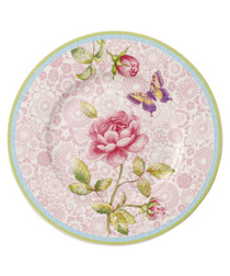 Rose Cottage pink porcelain Salad plate