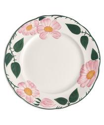 6pc Wildrose porcelain salad plate set