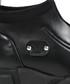 Black leather & tech sneakers Sale - v italia by versace 1969 abbigliamento sportivo srl milano italia Sale