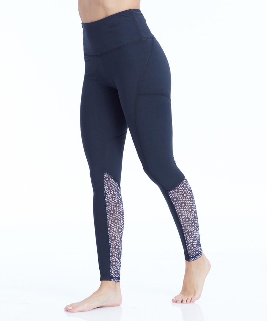 natasha navy patch leggings Sale - balance collection