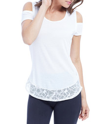 ember chalk lace detail top