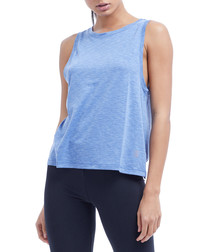 miranda blue marl tank top