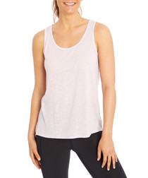 luna pale lilac tank top