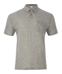 Heather grey pure cotton T-shirt