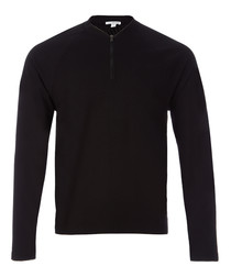 Black pure cotton sweatshirt