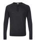 Carbon linen & cotton blend sweatshirt Sale - James Perse Sale