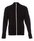 Black pure cotton zip-up sweatshirt Sale - James Perse Sale