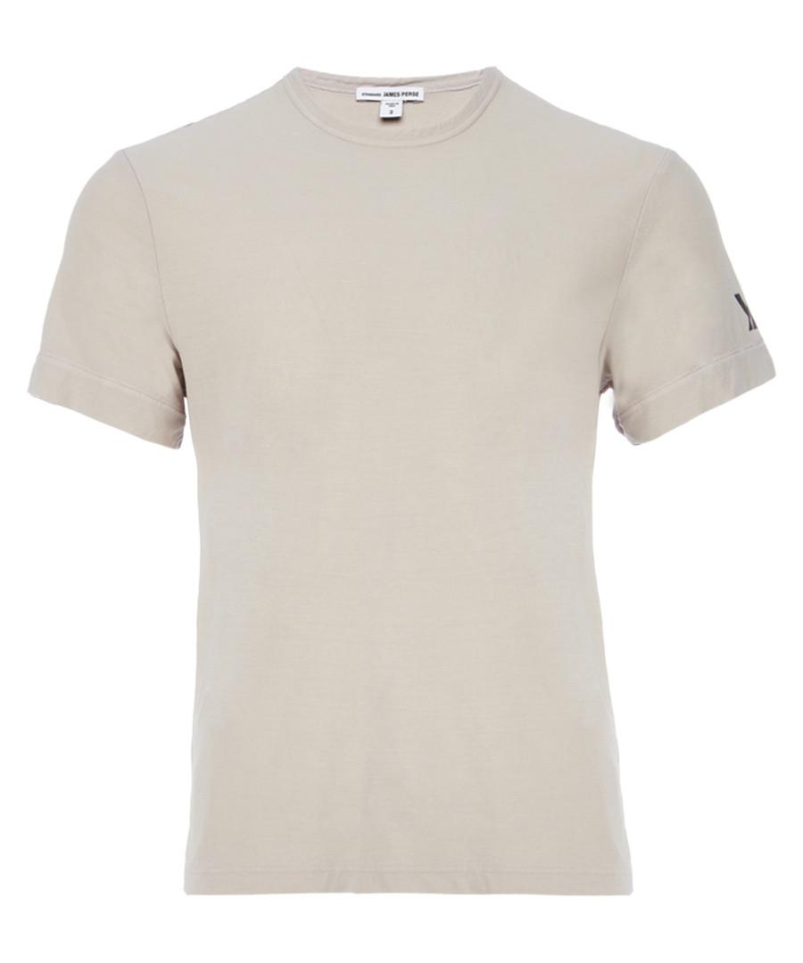 Concrete pure cotton T-shirt Sale - James Perse