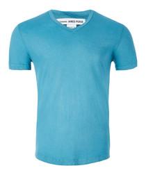 Spring rain pure cotton T-shirt