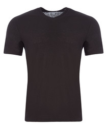 Carbon cotton & linen T-shirt