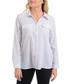 white & black polka blouse Sale - new york collective Sale