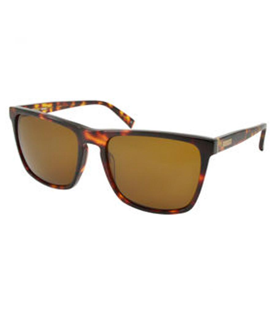 Havana squared D-frame sunglasses Sale - barbour