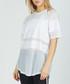 white panel sheer T-shirt Sale - criminal damage Sale