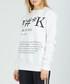 Fuhk white cotton blend jumper Sale - criminal damage Sale