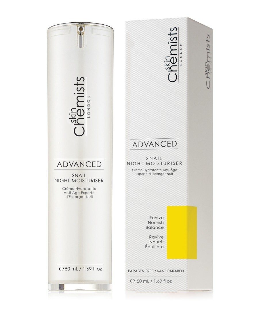 Skin Chemists Advanced Snail Night Moisturiser 50ml Sale - Skin Chemists