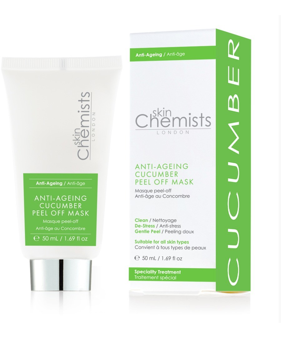 Skin Chemists Anti-ageing Cucumber Peel Off Mask 50ml Sale - Skin Chemists