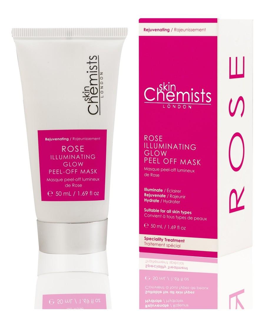 Skin Chemists Rose Illuminating Glow Peel-Off Mask Sale - Skin Chemists