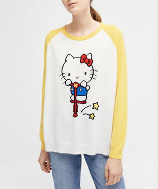 595cd0aa1 chinti & parker. hello kitty pogo pure cashmere jumper