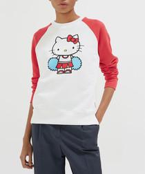 hello kitty cheerleader cotton jumper