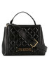 black faux-leather quilt grab bag Sale - love moschino Sale