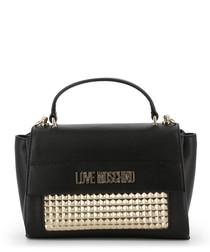 black & gold-tone stud grab bag