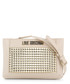 cream faux-leather & gold-tone crossbody Sale - love moschino Sale