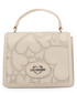 cream faux-leather hearts shoulder bag Sale - love moschino Sale