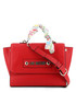 red faux-leather ribbon grab bag Sale - love moschino Sale