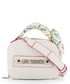 white faux-leather ribbon shoulder bag Sale - love moschino Sale